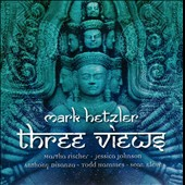 Three Views - Music for trombone, piano & percussion / Mark Hetzler, trombone; Jessica Johnson, piano; Anthony Di Sanza, percussion
