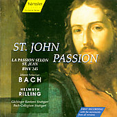 Bach: Johannes Passion / Rilling, Stuttgart Bach Collegium