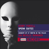 Purcell: Opera Suites from The Fairy Queen; Dioclesian; King Arthur; The Indian Queen / Sir Neville Marriner, Academy of St. Martin in the Fields