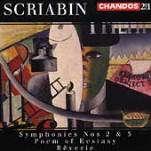 Scriabin: Symphonies no 2 & 3, etc / Neeme J&auml;rvi, et al