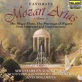 Favorite Mozart Arias / Mackerras, Scottish Chamber Orchestra, et al