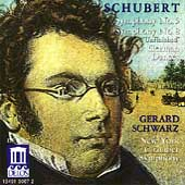 Schubert: Symphonies 5 & 8, etc / Schwarz, New York CS