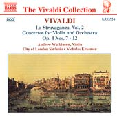 Vivaldi: La Stravaganza Vol 2 / Watkinson, Kraemer, et al