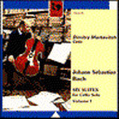 Bach: Six Suites for Cello Vol 1 / Dimitry Markevitch