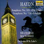 Classics - Haydn: Symphonies 101 and 104 / Charles Mackerras