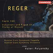 Reger: Psalm 100, Variations and Fugue / Polyansky, et al