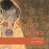Lorenza Ponce / Ben Zebelman/Lorenza Ponce: Song of Songs [Digipak]
