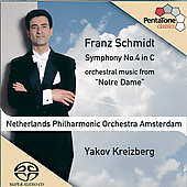 Schmidt: Symphony no 4, etc / Kreizberg, Netherlands PO