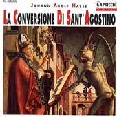 Hasse: La Conversione Di Sant' Agostino / Marcus Creed