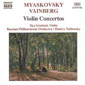 Myaskovsky, Vainberg: Violin Concertos / Grubert, et al