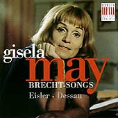 Gisela May - Eisler, Dessau: Brecht Songs