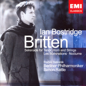 Britten: Serenade for Tenor, Horn and Strings / Rattle