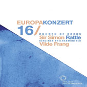 Europakonzert 2016 - Mendelssohn: Violin Concerto; Beethoven: Symphony No. 3 'Eroica'; Grieg: Evening in the Mountains / Vilde Frang, violin; Berlin PO, Simon Rattle [Blu-ray]