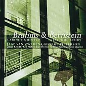 Brahms: Clarinet Quintet;  Bernstein: West Side Story