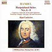 Handel: Harpsichord Suites Nos. 6-8