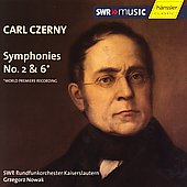 Czerny: Symphonies no 2 & 6 / Nowak, SWR RO, Kaiserslauten