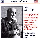 American Classics - Wolpe / Group for Contemporary Music