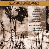 Harp Landscapes - Debussy, Enesco, Koechlin, Menotti, et al / Francette Bartholomee, harp