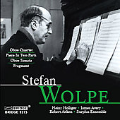 The Music of Stefan Wolpe Vol 4