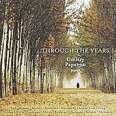 Through the Years - Bach, Liszt, etc / Dimitry Paperno
