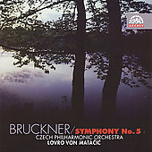Archiv - Bruckner: Symphony no 5 /  Matacic, Czech PO