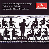 Holst: Greeting, Arrangements of Works by Purcell for orchestra / Jon Mitchell