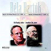 Bartok: Sonata for Violin no 1 & 2 / Pianka, Zak