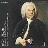 Bach, Reger: Sonatas for Cello (Viol) and Piano Vol 1 / Martin Rummel, Elizabeth Hopkins