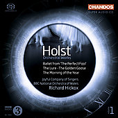 Holst: The Perfect Fool Ballet Op. 39, The Lure, etc / Hickox, et al