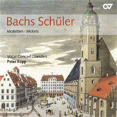 J.C.F. Bach, Doles, Krebs, etc: Motets / Peter Kopp, Dresden Instrumental Concert