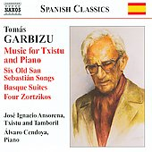 Garbizu: Music for Txistu & Piano