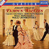 Johann Strauss: Famous Waltzes / Willi Boskovsky