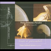 Paradisi: Sonatas for Harpsichord / Ravizza