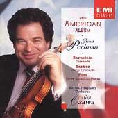 The American Album -Bernstein, Barber, Foss / Perlman, Ozawa