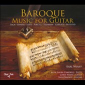 Baroque Music for Guitar: Bach, Buttsted, Handel, Lotti, Purcell et al. / Carl Wolff & Iain Osgood, guitars