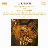 Bach: Kirnberger Chorales Vol 1 / Wolfgang R&uuml;bsam