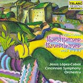 Villa-Lobos: Bachianas Brasileiras 2, 4 & 8 / L&#243;pez-Cobos