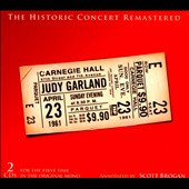 Judy Garland: The Historic Carnegie Hall Concert [Box] *