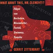 What about this Mr. Clementi? / Gerrit Zitterbart