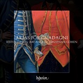 Arias for Guadagni / Iestyn Davies, countertenor; Arcangelo
