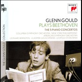 Beethoven: 5 Piano Concertos / Glenn Gould, piano; Bernstein, Golschmann, Stokowski