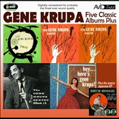 Gene Krupa: Five Classic Albums Plus: The Gene Krupa Sextet #1/#2/#3/Hey Here's Gene Krupa/The Gene Krupa Trio Collates