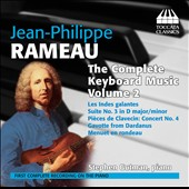 Rameau: The Complete Keyboard Music, Vol. 2 / Stephen Gutman, piano [3 CDs]