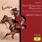 Liszt: The 19 Hungarian Rhapsodies / Roberto Szidon
