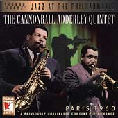 Cannonball Adderley: Paris, 1960