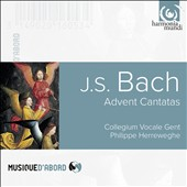 J.S. Bach: Advent Cantatas / Collegium Vocale Gent, Philippe Herreweghe