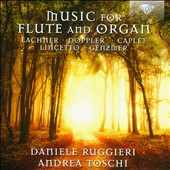 Music for Flute and Organ: Works of Hartmann, Doppler, Hiller, Caplet et al. / Daniele Ruggieri, flute; Andrea Toschi, organ