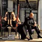 Transcriptions for clarinet and bassoon of music by Bruch, Brahms & Mendelssohn / Miroslaw Klys, clarinet; Dorota Cegielska, bassoon