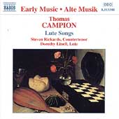Early Music - Campion: Lute Songs / Rickards, Linell