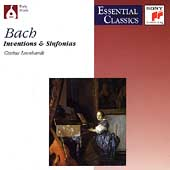 Bach: Inventions and Sinfonias, BWV 772-801 / Leonhardt